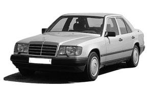 Замена автостёкол на mercedes 124