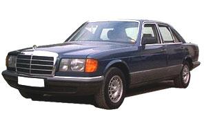Замена автостёкол на mercedes 126