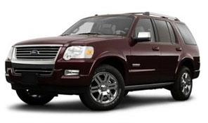 Замена автостёкол на ford explorer