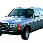 Замена mercedes 123