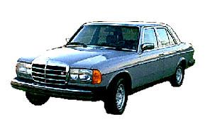 Замена автостёкол на mercedes 123